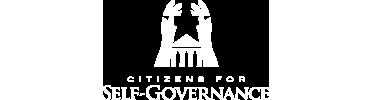 Citizens for Self-Governance logo