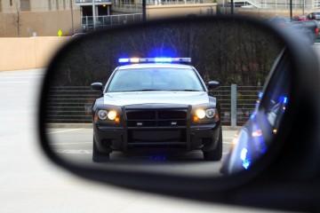 police mirror