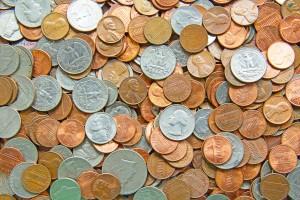 coin pile