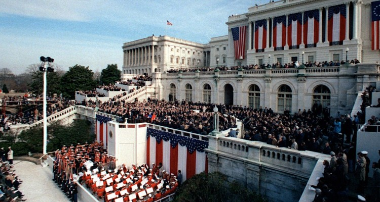 President_Ronald_Reagan_delivers_his_inaugural_address