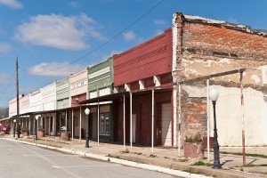 abandoned main street