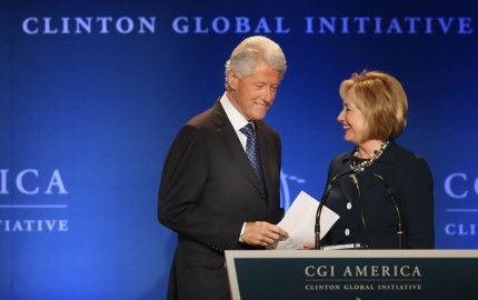Clinton Global Initiative America Meetings Held In Chicago