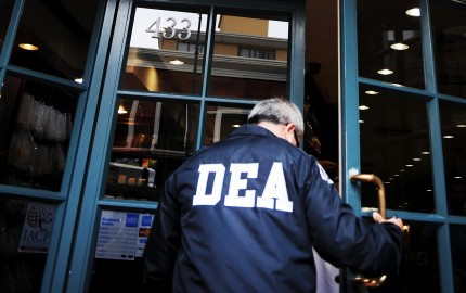 A DEA (Drug Enforcement Administration) agent