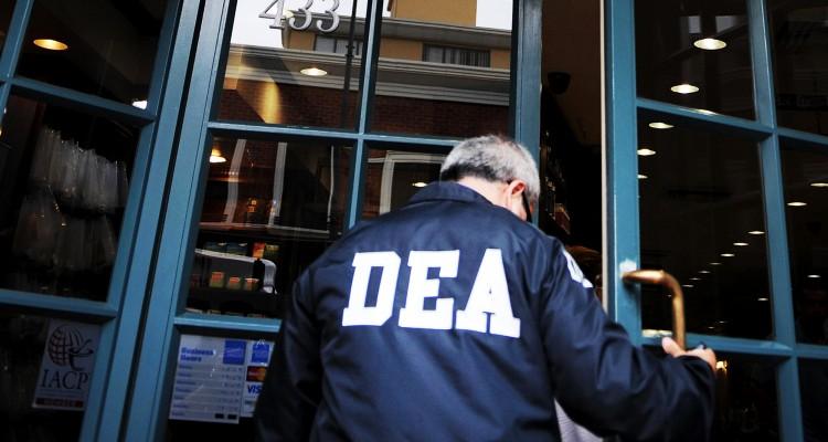 A DEA (Drug Enforcement Administration) agent